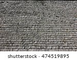 Wooden Roof Tiles . Old Roof....