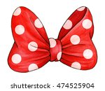 Red Polka Dot Gift Bow....