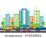 vector illustration   flat... | Shutterstock .eps vector #474530851