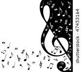 background music | Shutterstock . vector #47453164
