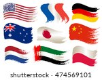 collection of popular world... | Shutterstock .eps vector #474569101