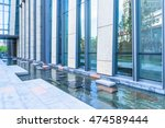 modern building outdoors | Shutterstock . vector #474589444