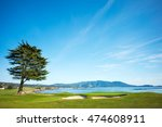 Pebble Beach Golf Course 18th...