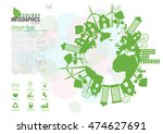 ecology connection  concept... | Shutterstock .eps vector #474627691