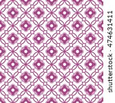 seamless ornamental pattern... | Shutterstock .eps vector #474631411