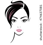illustration of women short... | Shutterstock .eps vector #474637081