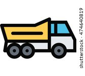 truck outline icon | Shutterstock .eps vector #474640819