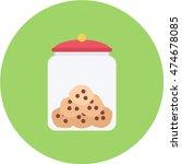 cookie jar | Shutterstock .eps vector #474678085