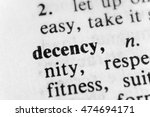 Small photo of Decency