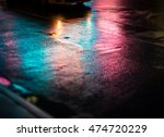 lights and shadows of new york... | Shutterstock . vector #474720229