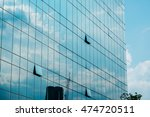 sky  clouds and building... | Shutterstock . vector #474720511