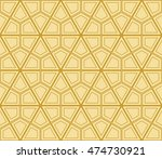 abstract triangle pattern.... | Shutterstock .eps vector #474730921