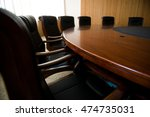 conference table and chairs in... | Shutterstock . vector #474735031
