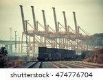 seattle  wa   aug 14  crane... | Shutterstock . vector #474776704