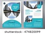 business brochure flyer design... | Shutterstock .eps vector #474820099