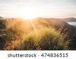 fantastic outdoor sunrise  bali ...   Shutterstock . vector #474836515