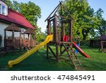 children's playground | Shutterstock . vector #474845491