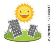 vector icon generating energy...   Shutterstock .eps vector #474850867