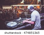 moscow  6 august 2016  dmc dj... | Shutterstock . vector #474851365