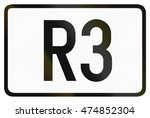 numbered ring highway shield... | Shutterstock . vector #474852304