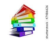 rainbow binder   Shutterstock . vector #47486626