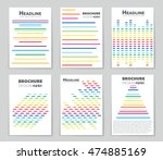 abstract vector layout... | Shutterstock .eps vector #474885169