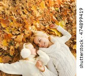 mother and daughter have a fun...   Shutterstock . vector #474899419