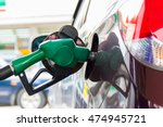 employee is fueling. | Shutterstock . vector #474945721