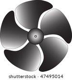 big industrial ventilator | Shutterstock .eps vector #47495014