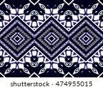 geometric ethnic oriental... | Shutterstock .eps vector #474955015