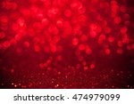 red bokeh holiday textured... | Shutterstock . vector #474979099