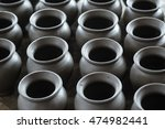 rows of traditional clay...   Shutterstock . vector #474982441