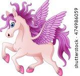 Cartoon Pony Horse Posing...