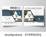business templates for square... | Shutterstock .eps vector #474996541