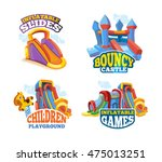 vector illustration set of... | Shutterstock .eps vector #475013251