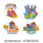 vector illustration set of... | Shutterstock .eps vector #475013251