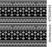 ethnic boho seamless pattern.... | Shutterstock . vector #475018435