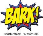 bark   Shutterstock .eps vector #475024801