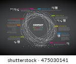 vector infographic abstract... | Shutterstock .eps vector #475030141