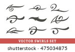 simple vector calligraphic... | Shutterstock .eps vector #475034875