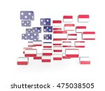 Flag Of United States Of...
