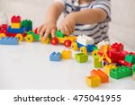 close up of child's hands... | Shutterstock . vector #475041955