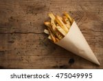 fries french herb still life... | Shutterstock . vector #475049995