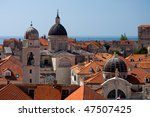 the roofs of the old city of... | Shutterstock . vector #47507425