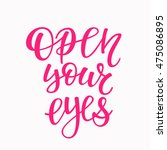 freedom quote lettering.... | Shutterstock .eps vector #475086895