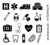 medical icons | Shutterstock .eps vector #475095679