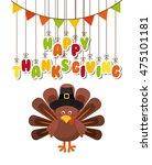 happy thanksgiving celebration...   Shutterstock .eps vector #475101181