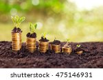 successful savings shown by...   Shutterstock . vector #475146931