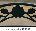 wrought iron silhouette | Shutterstock . vector #475152