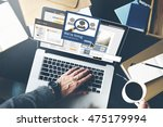 we are hiring career... | Shutterstock . vector #475179994